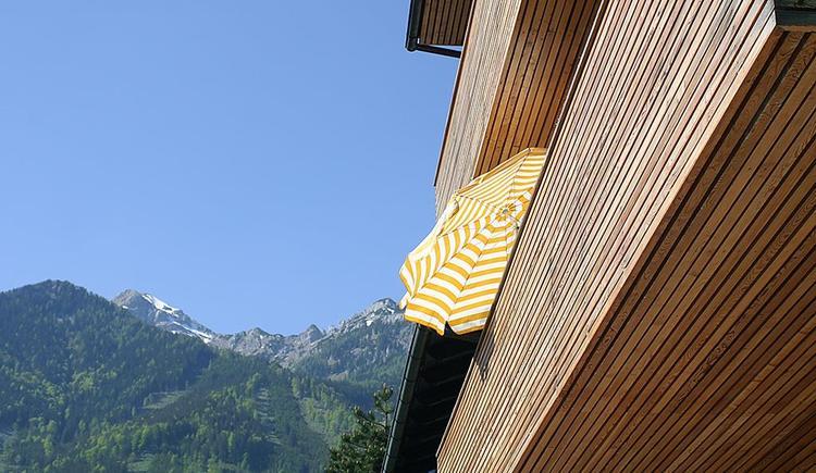 Balkonruhe im Hotel Garni Wallner Hinterstoder (© Wallner)