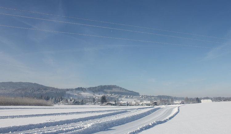 langlaufen, Loipen, Attergau im Salzkammergut. (© TVB St. Georgen im Attergau)