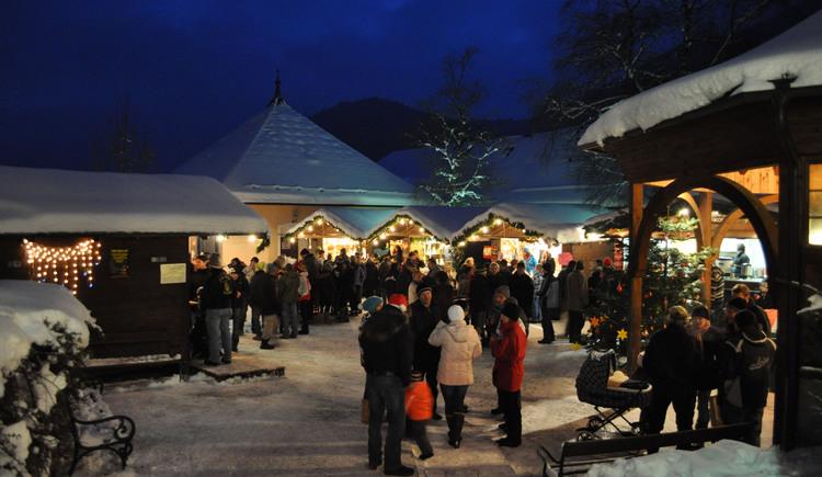 Adventmarkt. (© Tourismusverband Ebenau)