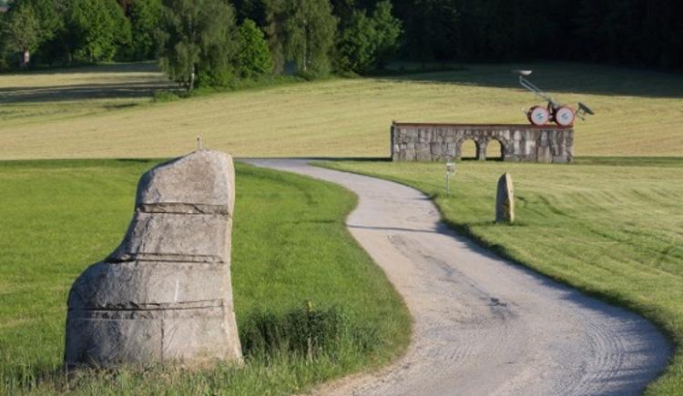 Blick auf den Steinweg (© Green Belt Center)