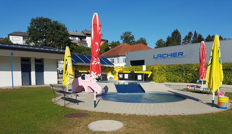 Erlebnisbad Frankenmarkt Blick auf den Kinderbereich