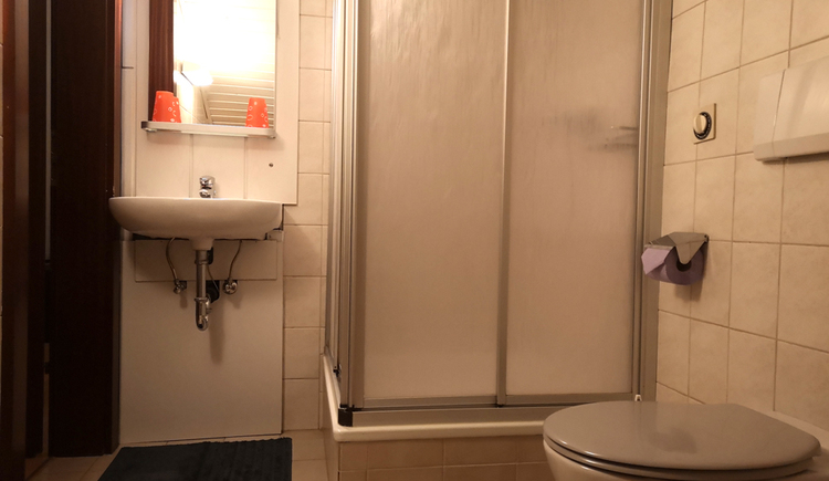 Rosys House Privat Pension Dusche und WC. (© De Santis Rosanella Stella Chiara)