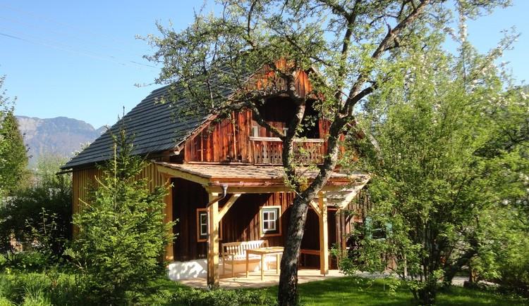 Das Ferienhaus befindet sich etwas außerhalb von Zentrum in der Ortschaft Ramsau. (© Ernst Gaisbauer)