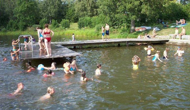 Baden im See (© Privat)