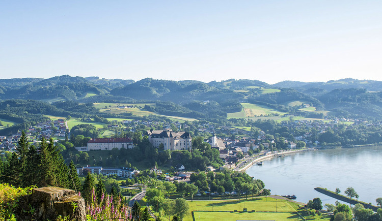 Blick auf Grein an der Donau (© WGD Donau Oberösterreich Tourismus GmbH / Erber)