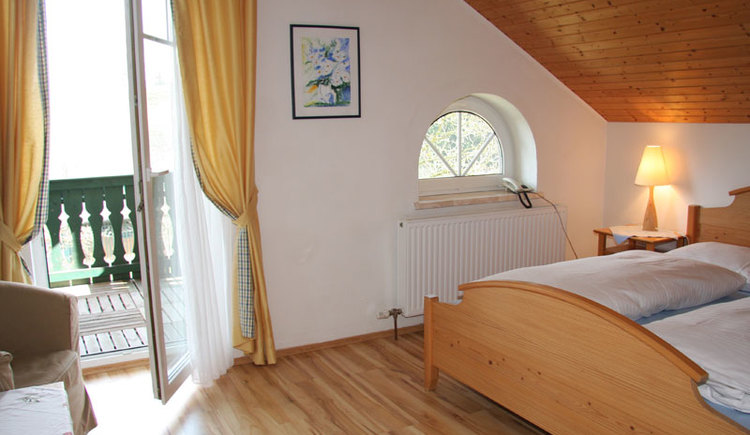 Zimmer landhotel Waldmühle in Straß im Attergau. (© Landhotel Waldmühle)
