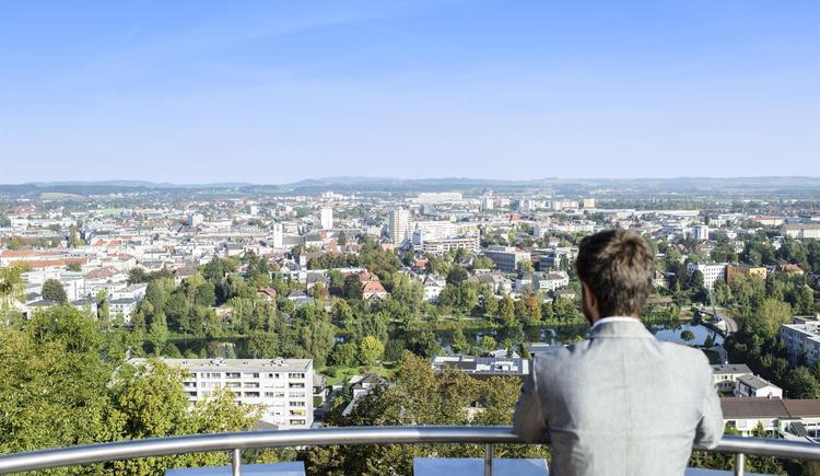 Ausblick (© Tourismusregion Wels)
