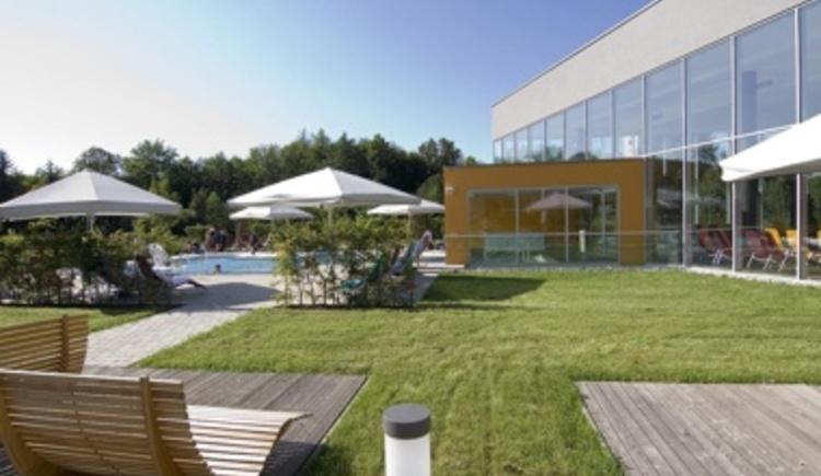 Wellness Außenbereich (© Hotel Lebensquell)