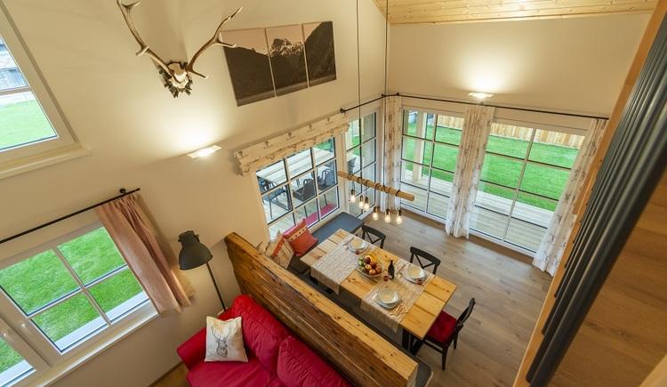 Im Wohnbereich wurden moderne und traditionelle Elemente gekonnt kombiniert.