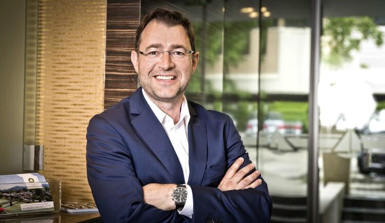 Hoteldirektor Edwin Gruber. (© Hotel Goldenes Schiff)