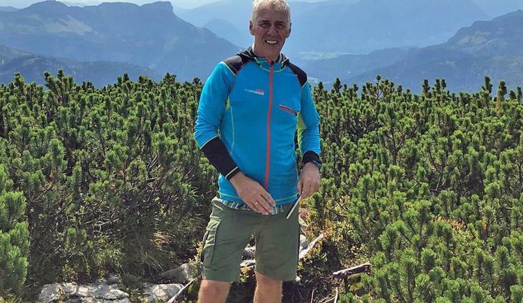 Wanderführer und MTB-Guide Richard Hanke (© Richard Hanke)
