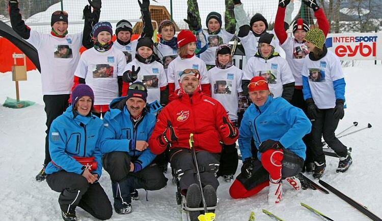 Gruppenfoto - Biathlon for Kids and Juniors