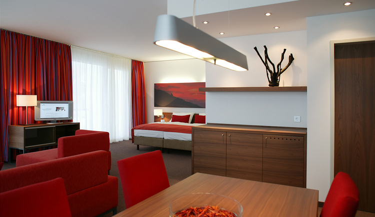 Juniorsuite rot (© Hotel Lebensquell Bad Zell)