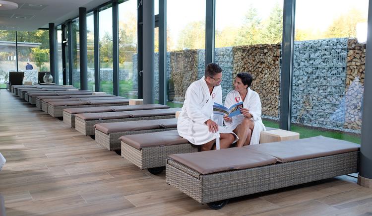 Ruhebereich für Hotelgäste (© Hotel Lebensquell Bad Zell)