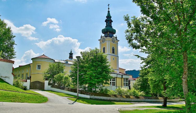 Seminarzentrum Stift Schlägl im Sommer (© Foto Wimmer)
