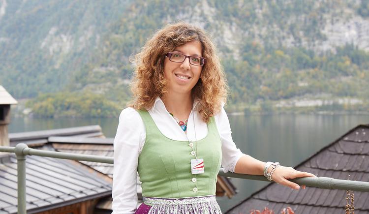 Cristiana Campanile bietet Führungen in Deutsch, Englisch, Italienisch und Französisch an. (© WKO Oberösterreich)