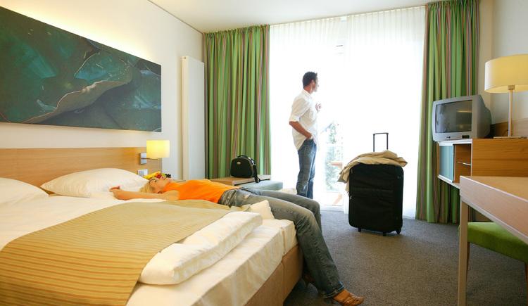 Zimmer grün (© Lebensquell Bad Zell)