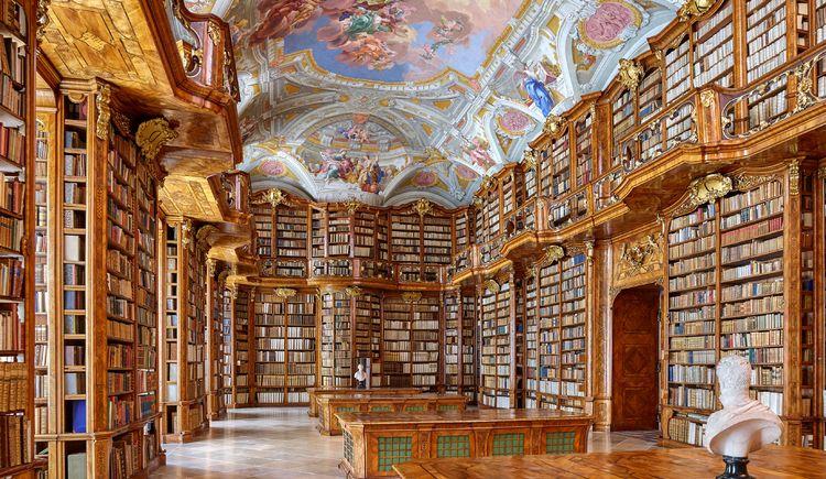 Die Stiftsbibliothek St. Florian.