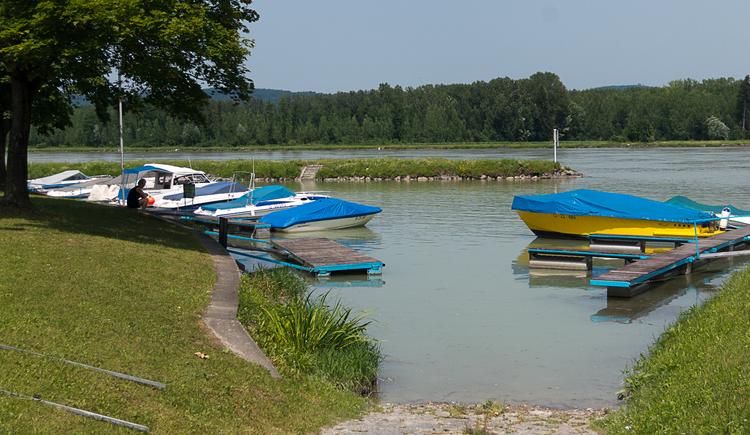 Bootshafen Brandstatt (© WGD Donau Oberösterreich Tourismus GmbH / Kranzmayr)