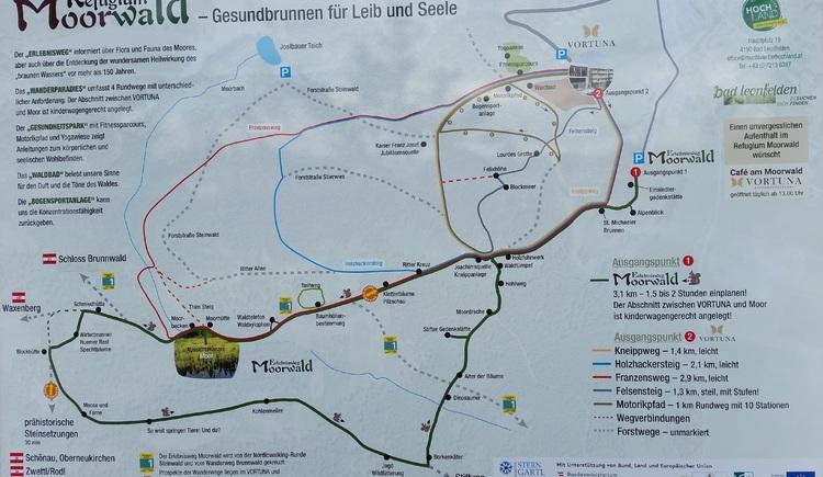 Plan Refugium Moorwald (© TV Mühlviertler Hochland)