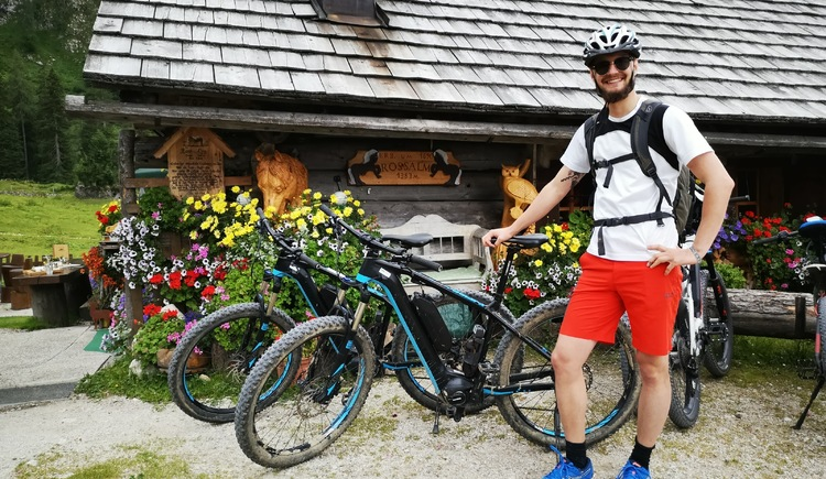 Even for non-trained mountain bikers, the Rossalm is easily accessible by e-bike.