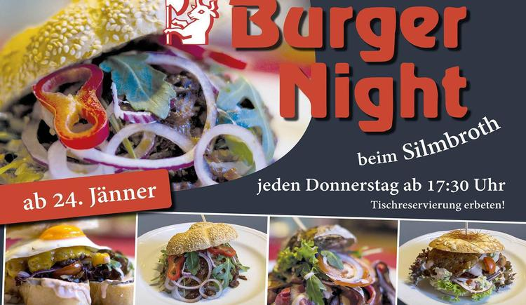 Burger Night beim Silbroth in Viechtwang (© GH Silmbroth)
