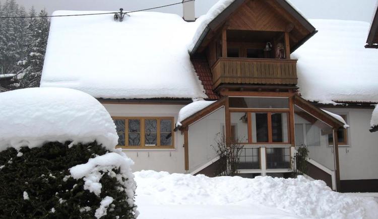 Hausansicht Winter 1