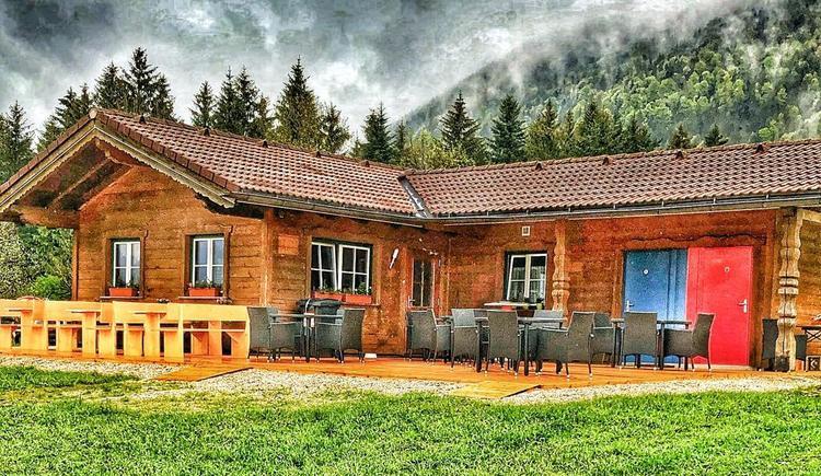 Tubinghütte Sommer