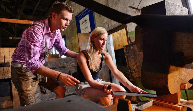 ein Besuch im Geyerhammer Museum ist eine willkommene und interessante Abwechslung. (© Tourismusverband Almtal-Salzkammergut, Genuss am Almfluss)