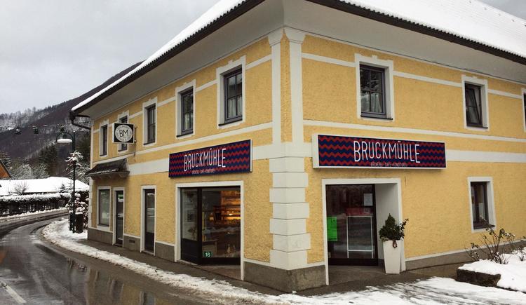 Bäckerei & Café Bruckmühle Filiale Grünau/Almtal (© Tourismusverband Traunsee-Almtal)