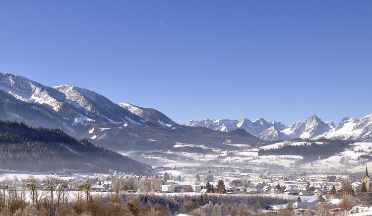 Winterpanorama Windischgarsten (© TVB Pyhrn-Priel/Bruno Sulzbacher)