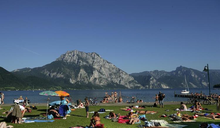 Esplanade Altmünster (© MTV Ferienregion Traunsee)