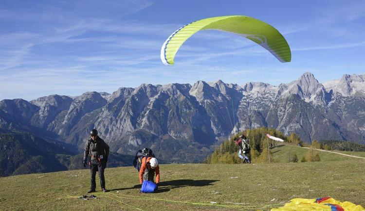 Paragleit und Drachenflugschule (© Paragleit und Drachenflugschule Hinterstoder)