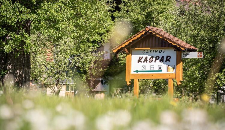 Zufahrt Gasthaus Kaspar