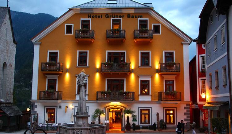 Im Seehotel Grüner Baum Hallstatt befindet sich das Hoteleigene Restaurant, welches auch für Nicht-Hotelgäste zugänglich ist.