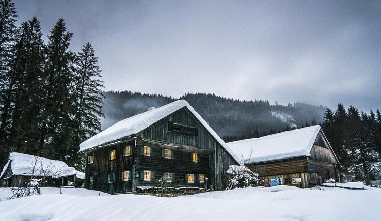 Im Dezember findet immer die Gosauer Bergweihnacht im Heimatmuseum statt. (© Alexander Kijak)