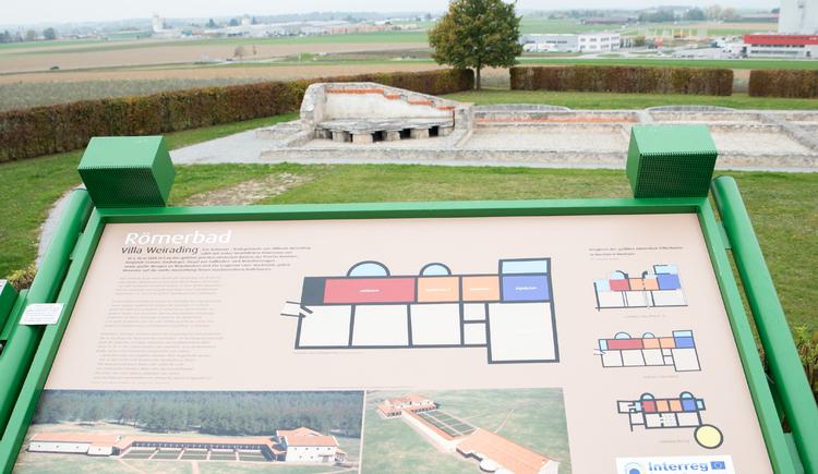 Römerbad Villa Weirading - Auf den Spuren der Römer - Innviertel die Kornkammer