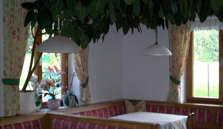 der gemütliche Frühstücksraum (© Urbanhof)