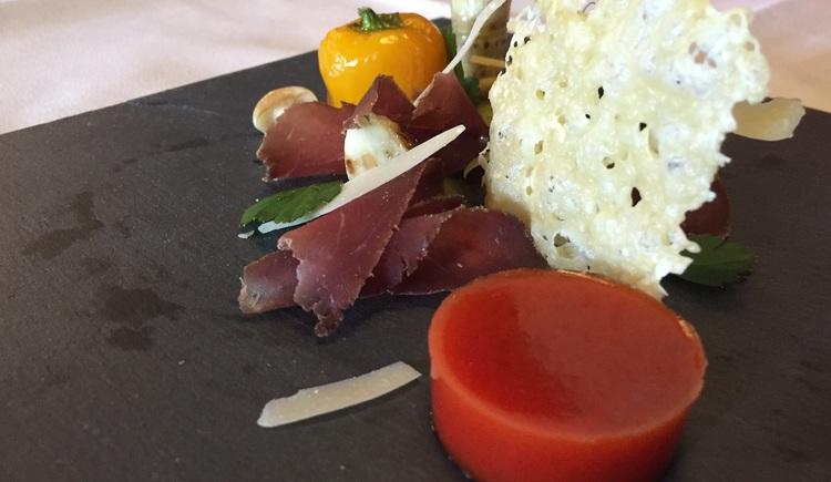 Genießen Sie einzigartige Speisen im Restaurant Goiserermühle. (© Willi Eberl / Hotel Goiserermühle)