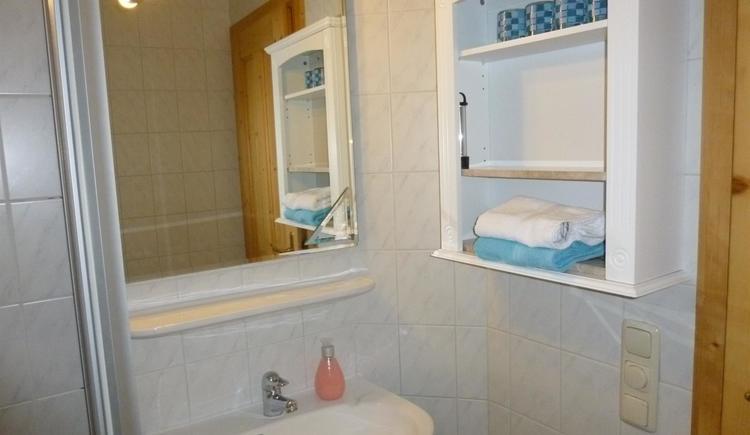 Badezimmer XXL Apartment Hirtenstube (© berger)