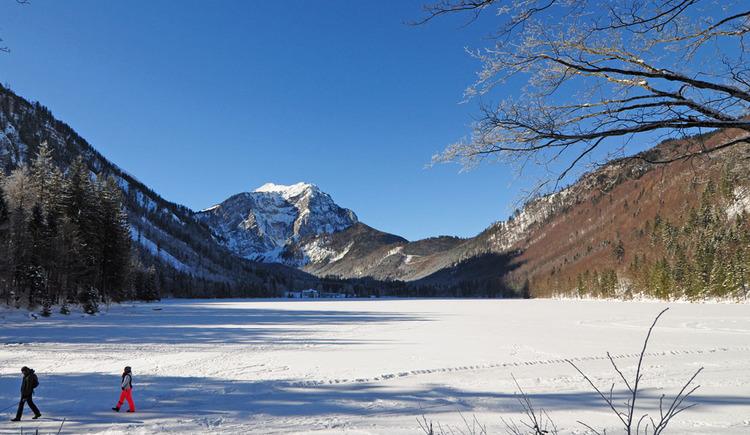 Langbathsee im Winter (© Gerhard Spengler)
