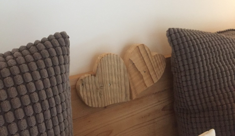 Two hearts of wood