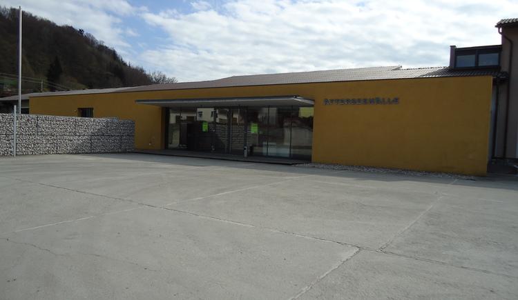 Atterseehalle (© Tourismusverband Attersee-Attergau)