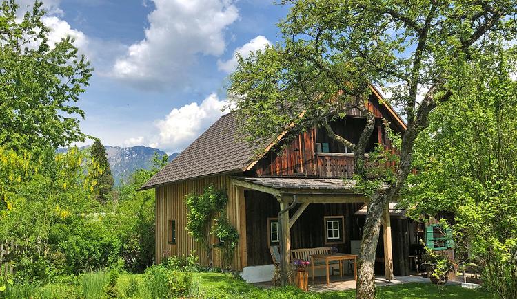 Das Ferienhaus befindet sich 2 km vom Zentrum Bad Goisern entfernt am Rande der Ortschaft Ramsau. (© Ernst Gaisbauer)