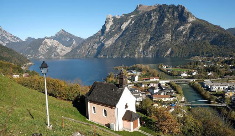 Blick vom Kalvarienberg auf Ebensee (© Rudolf Kirth)