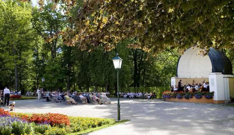 Unsere Konzerte im Park (© Bad Hall)
