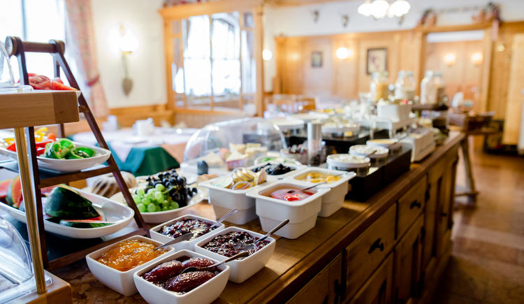 Gasthof Kirchenwirt - Frühstücksbuffet. (© Familie Schmeisser)