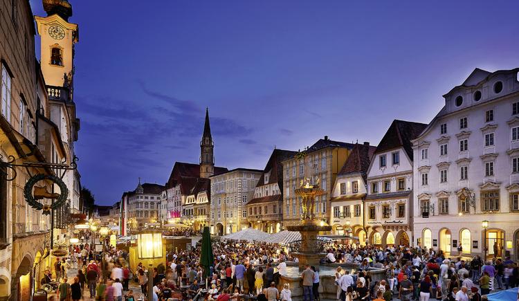 Stadtzentrum Steyr. (© TVB Steyr und die Nationalpark Region)