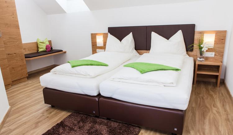Doppelzimmer bem Wirt z`Bierbaum