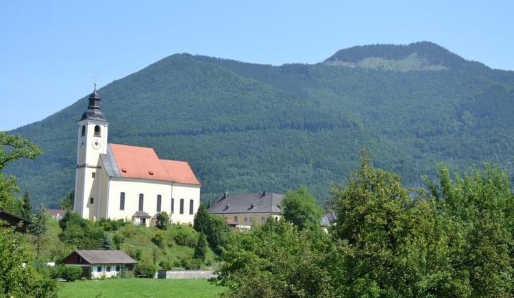 Blick auf unser Pfarrkirche (© Sieberer)